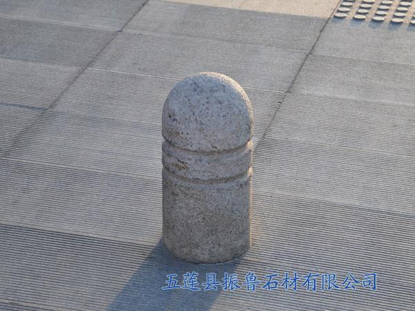 花岗岩挡车柱