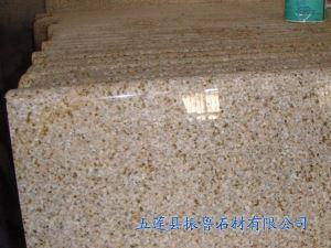 黄锈石光面台面板