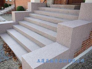 五莲花台阶石