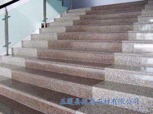 五莲红台阶石